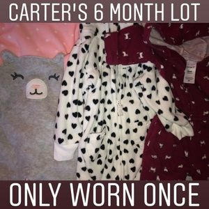 SOLD: Carter's 6 month lot